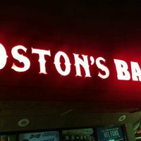 Photo taken at Boston's Bar and Grille by Jason C. on 1/15/2017