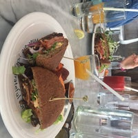 Photo taken at Cafe Gratitude by Pamela L. on 7/24/2017