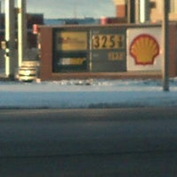 Photo taken at Shell by Chris W. on 12/21/2012