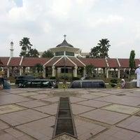 Photo taken at Masjid Agung At-Tin by Septian R. on 2/1/2013