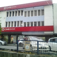 Photo taken at CIMB Bank by Ean S. on 10/21/2013