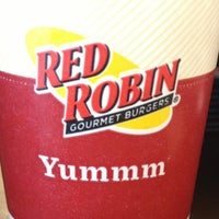 Photo taken at Red Robin Gourmet Burgers by Ashlee T. on 12/10/2012