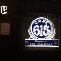 Photo taken at Cafe 615 (Da Wabbit) by Bryan D. on 3/29/2015