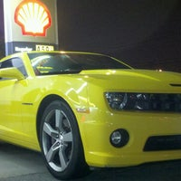 Photo taken at Shell by CJ W. on 3/1/2013