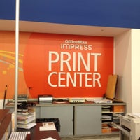 Photo taken at OfficeMax by Steve P. on 10/10/2012