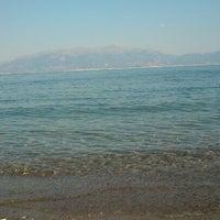 Photo taken at Παραλία Κρυονερίου by Evangelos F. on 6/19/2013