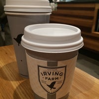 Foto tirada no(a) Irving Farm Coffee Roasters por Kathryn W. em 11/14/2017