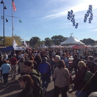 Photo taken at Oyster Bay Oyster Festival by Ricky P. on 10/13/2012