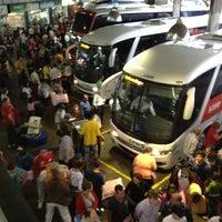 Photo taken at Estação Rodoviária de Porto Alegre by Suelem S. on 12/28/2012