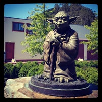Photo taken at Yoda Statue by Paul B. on 7/13/2013