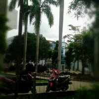 Photo taken at Plasa Mahasiswa (PLASMA) STAN by Agus R. on 1/26/2013