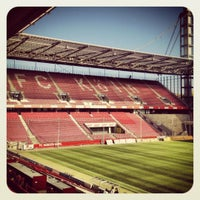 Photo taken at RheinEnergieStadion by Sunfield on 10/11/2012