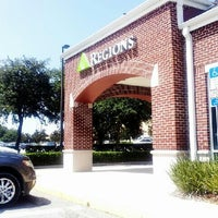 Photo taken at Regions Bank by Brady T. on 8/13/2013
