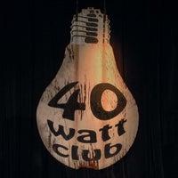 Photo taken at 40 Watt Club by Maurice on 9/28/2013