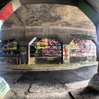 Photo taken at Krog Street Tunnel by Maurice on 5/21/2013