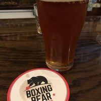 Photo taken at Boxing Bear Brewing Company by Guillermo R. on 2/23/2017