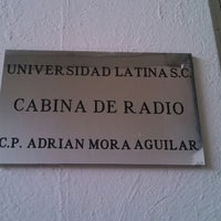 Photo taken at Cabina De Radio by Ale R. on 3/3/2014
