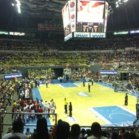 Photo taken at SMART Araneta Coliseum by Jazz O. on 5/12/2013