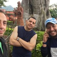 Photo taken at Parque principal Sasaima by Daniel O. on 12/2/2016