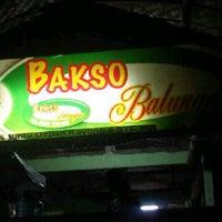 Photo taken at Bakso Balungan by Berto G. on 6/27/2013