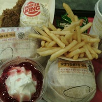 Photo taken at Burger King by Fang F. on 4/23/2013