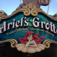 Photo taken at Ariel's Grotto by Carey P. on 3/6/2013