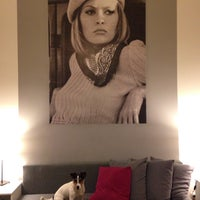 Photo taken at Hollywood Hostel by Natalija Š. on 12/30/2015
