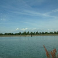 Photo taken at Rhine River by Mailene G. on 7/2/2013