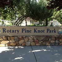 Photo taken at Rotary Pine Knot Park by Mailene G. on 7/27/2013
