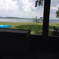 Photo taken at Lake Kerr by Robert B. on 6/22/2014