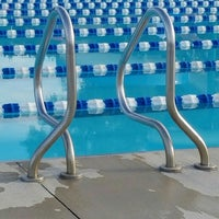 Photo taken at Tuhey Pool by Dan M. on 6/19/2016