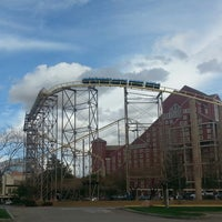 Photo taken at The Desperado Roller Coaster by Robert G. on 3/1/2014