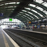 Photo taken at Berlin Ostbahnhof by Marc G. on 5/18/2013