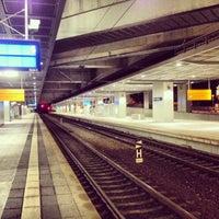 Photo taken at Bahnhof Berlin Südkreuz by Marc G. on 10/28/2013