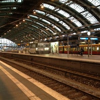 Photo taken at Berlin Ostbahnhof by Marc G. on 9/28/2013