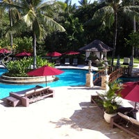 Photo taken at The Laguna, a Luxury Collection Resort & Spa, Nusa Dua, Bali by Thitinan T. on 11/17/2012