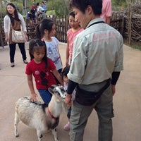 Photo taken at ズーラシア ヤギふれあい by Ken S. on 9/28/2013