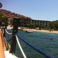 Photo taken at Palm beach by Deniz on 6/24/2013