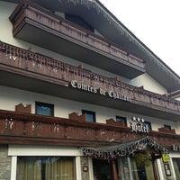 Photo taken at Hotel Comtes De Challant Fenis by Jean-Marc W. on 12/24/2012