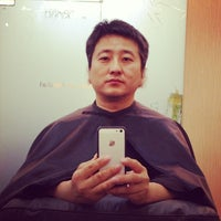 Photo taken at Salon De Marshall 라페점 by Young Y. on 11/17/2013