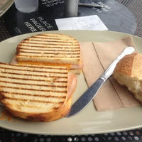 Photo taken at Saint Louis Bread Co. by Adam W. on 8/6/2013