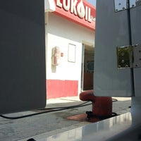 Photo taken at Lukoil by happy m. on 8/5/2015