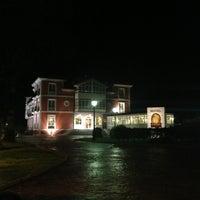 Photo taken at Hotel Hacienda de Don Juan by Luis Carlos C. on 2/9/2013