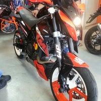 Photo taken at Bike Station KTM by shahir c. on 10/12/2013