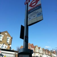 Photo taken at Falkland Road Bus Stop by diana on 3/13/2013