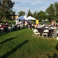 Photo taken at Central Mcdougall Park by Andrew F. on 8/16/2013