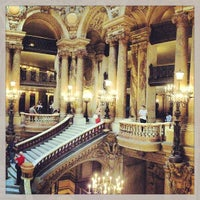 Photo taken at Garnier Opera by Carlos M. on 6/8/2013