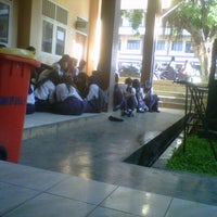 Photo taken at SMA YP UNILA by lala a. on 12/6/2012