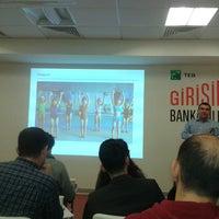 Photo taken at TEB Girişim Evi by Gökhan B. on 11/27/2014