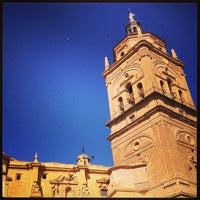 Photo taken at Catedral de Guadix by Sun J. on 7/16/2013